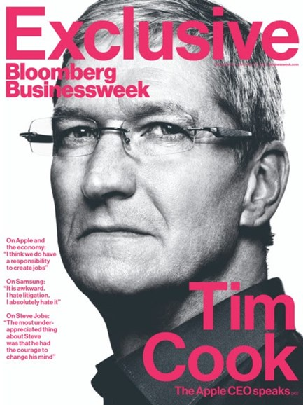 Bloomberg Businessweek Cover - 12/10/2012