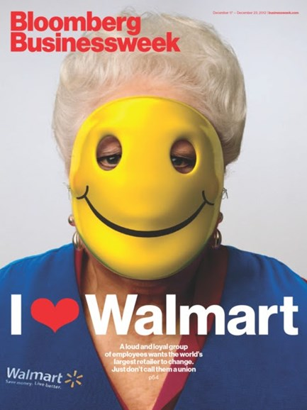 Bloomberg Businessweek Cover - 12/17/2012