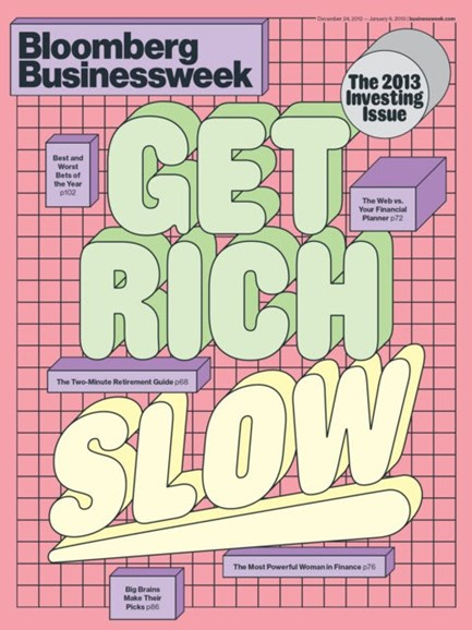 Bloomberg Businessweek Cover - 12/24/2012