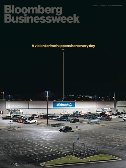 Bloomberg Businessweek Cover - 8/22/2016