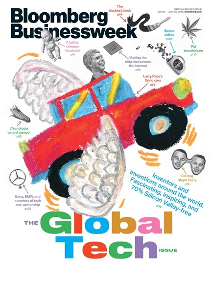 Bloomberg Businessweek Cover - 6/13/2016
