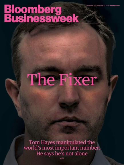 Bloomberg Businessweek Cover - 9/21/2015