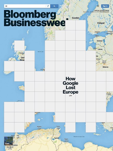 Bloomberg Businessweek Cover - 8/10/2015