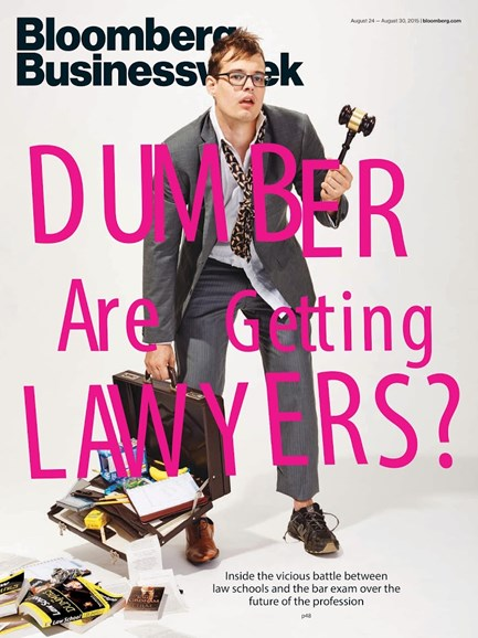 Bloomberg Businessweek Cover - 8/24/2015