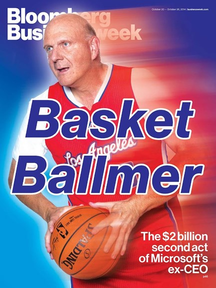 Bloomberg Businessweek Cover - 10/20/2014