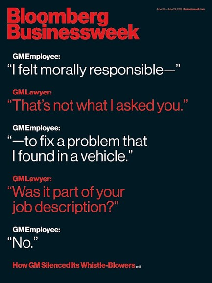 Bloomberg Businessweek Cover - 6/23/2014