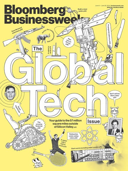Bloomberg Businessweek Cover - 6/9/2014