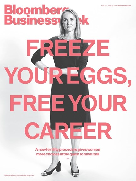 Bloomberg Businessweek Cover - 4/21/2014