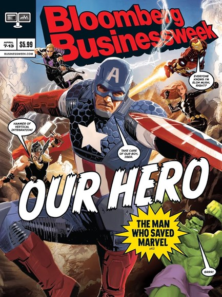 Bloomberg Businessweek Cover - 4/7/2014