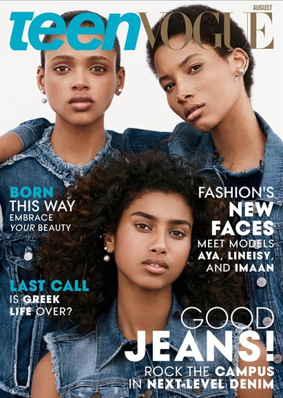 Teen Vogue Cover - 8/1/2015