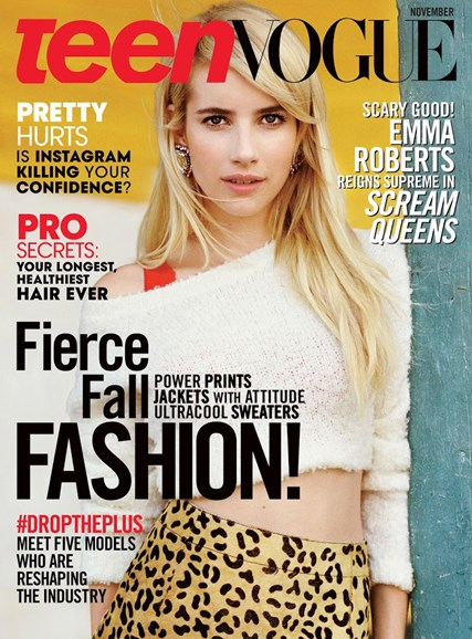 Teen Vogue Cover - 11/1/2015