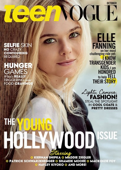 Teen Vogue Cover - 10/1/2015