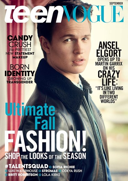Teen Vogue Cover - 9/1/2015