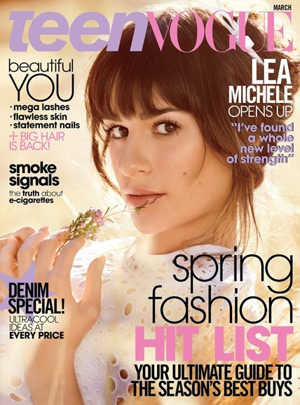 Teen Vogue Cover - 3/1/2014