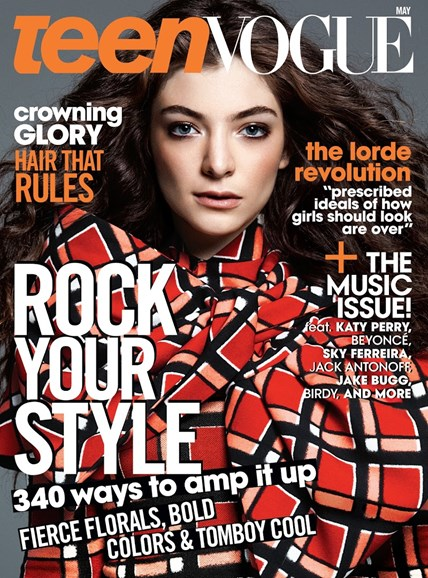 Teen Vogue Cover - 5/1/2014