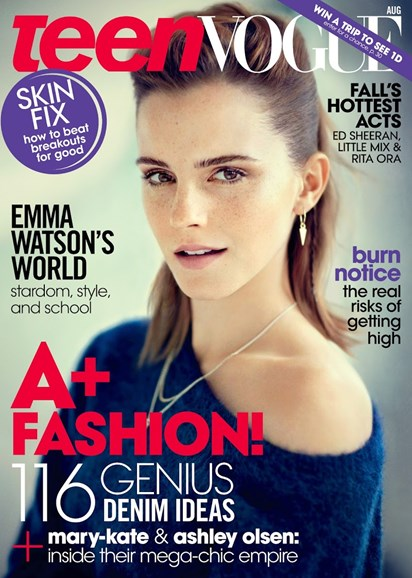 Teen Vogue Cover - 8/1/2013