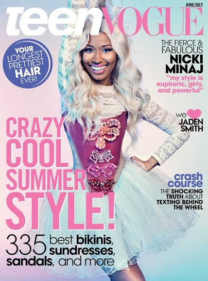 Teen Vogue Cover - 6/1/2013