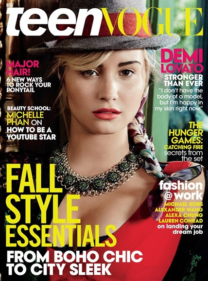 Teen Vogue Cover - 11/1/2013