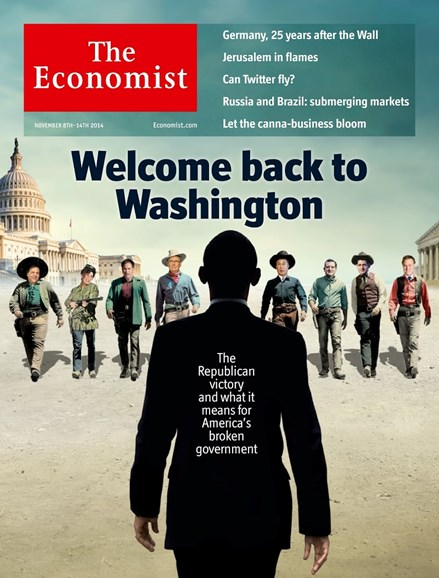 The Economist Cover - 11/8/2014