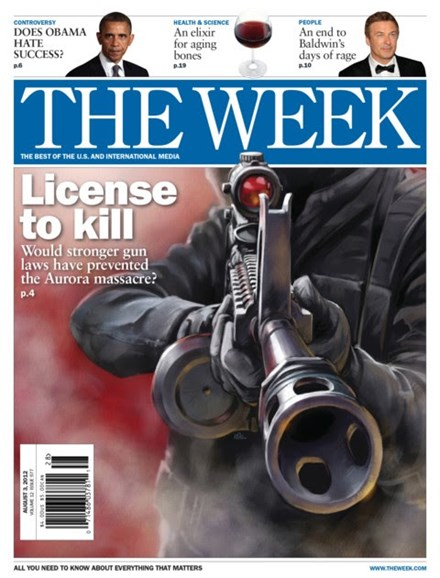 The Week Cover - 8/3/2012