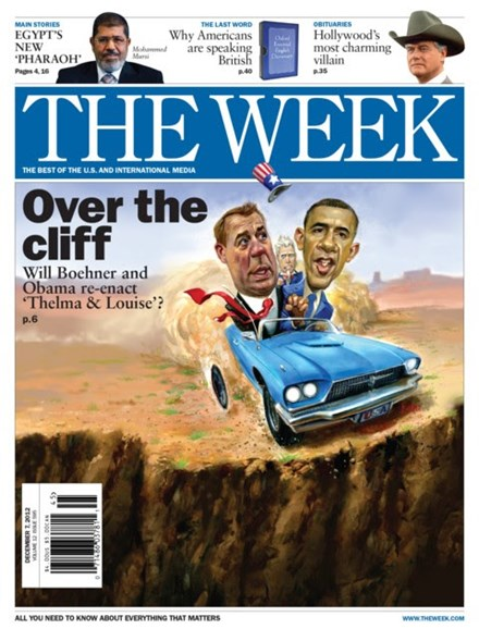 The Week Cover - 12/7/2012