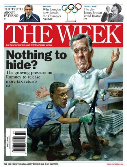 The Week Cover - 7/27/2012