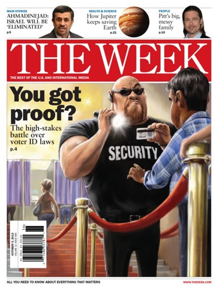 The Week Cover - 10/5/2012