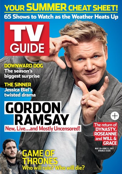 TV Guide Cover - 5/29/2017
