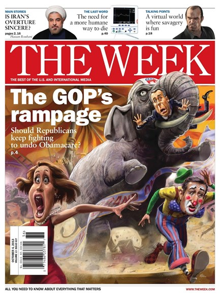 The Week Cover - 10/4/2013