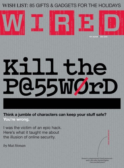 Wired Cover - 12/1/2012