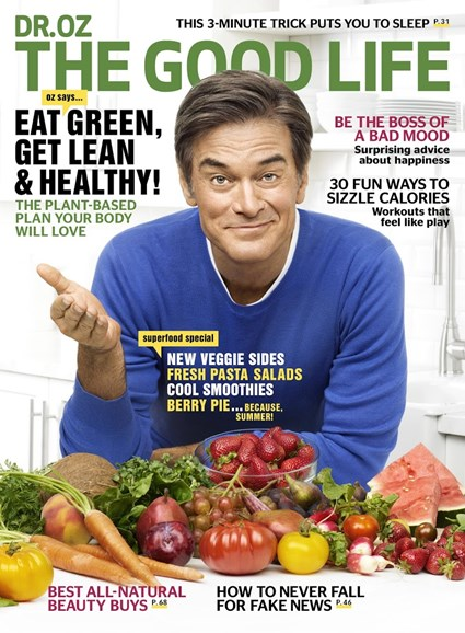 Dr. Oz The Good Life Cover - 6/1/2017