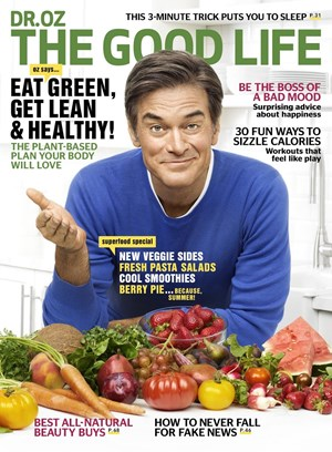 Dr. Oz | 6/1/2017 Cover