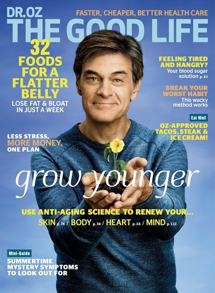 Dr. Oz The Good Life Cover - 5/1/2017