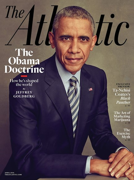 The Atlantic Cover - 4/1/2016
