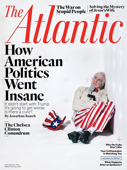 The Atlantic Cover - 7/1/2016