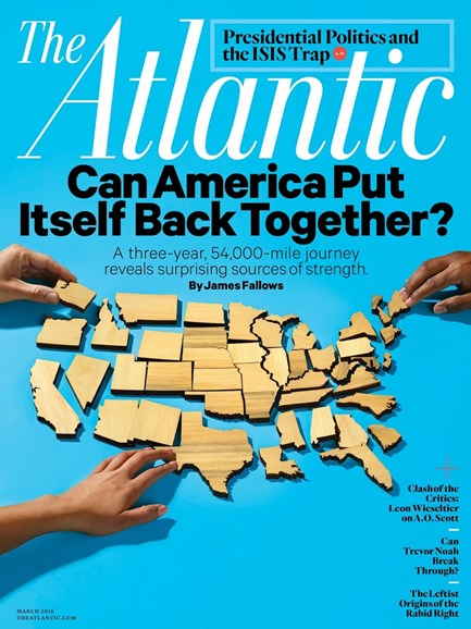 The Atlantic Cover - 3/1/2016