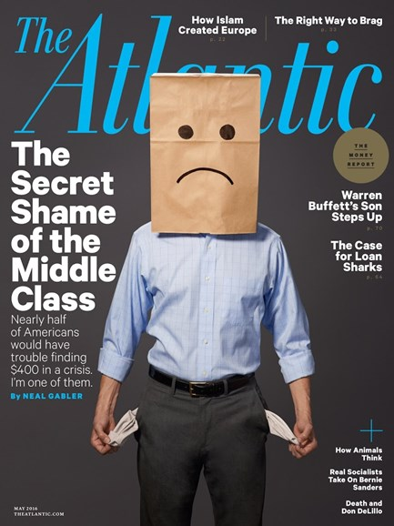 The Atlantic Cover - 5/1/2016