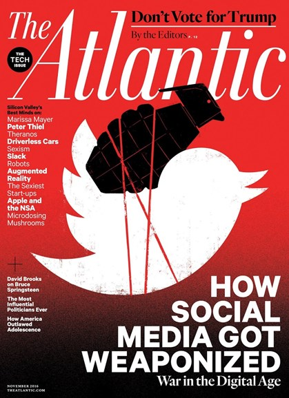 The Atlantic Cover - 11/1/2016