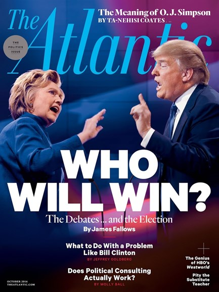 The Atlantic Cover - 10/1/2016