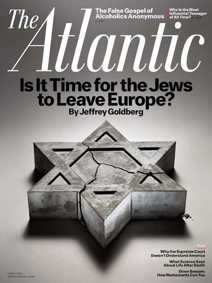 The Atlantic Cover - 4/1/2015