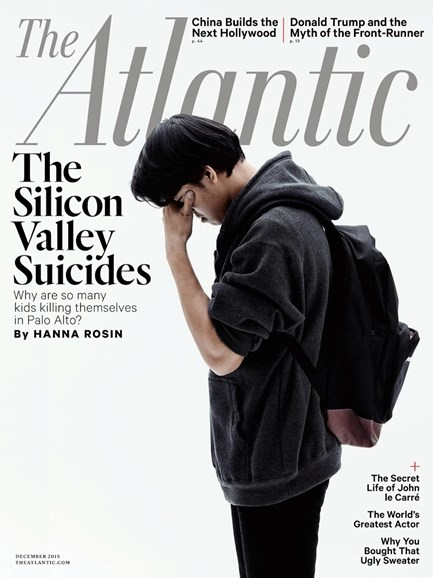 The Atlantic Cover - 12/1/2015