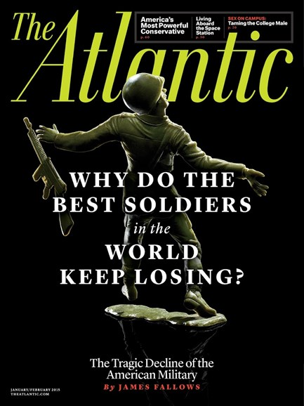 The Atlantic Cover - 1/1/2015