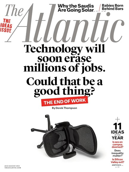The Atlantic Cover - 7/1/2015