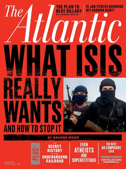 The Atlantic Cover - 3/1/2015