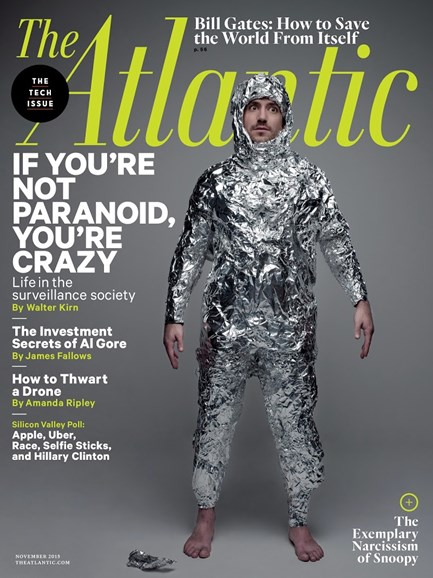 The Atlantic Cover - 11/1/2015