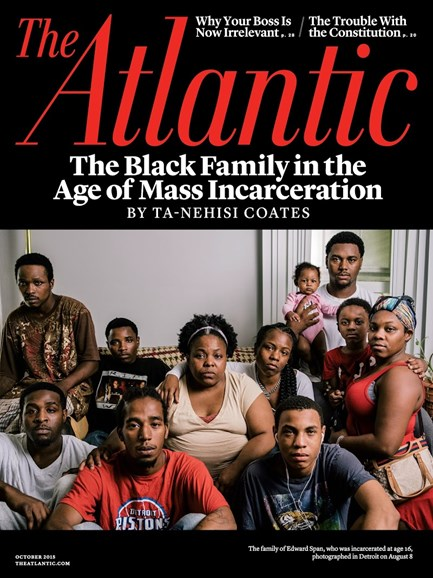 The Atlantic Cover - 10/1/2015