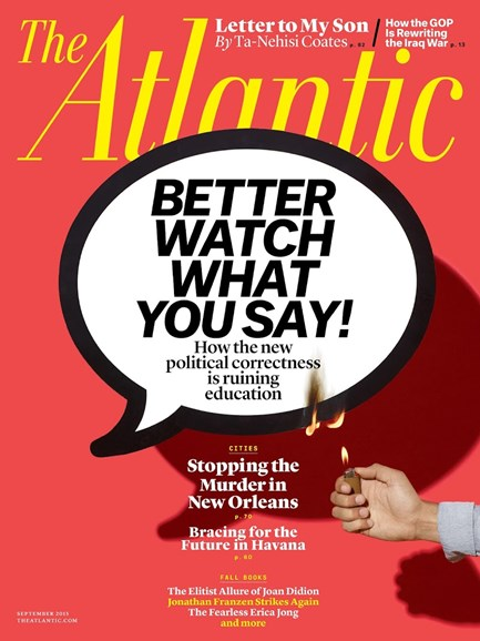 The Atlantic Cover - 9/1/2015