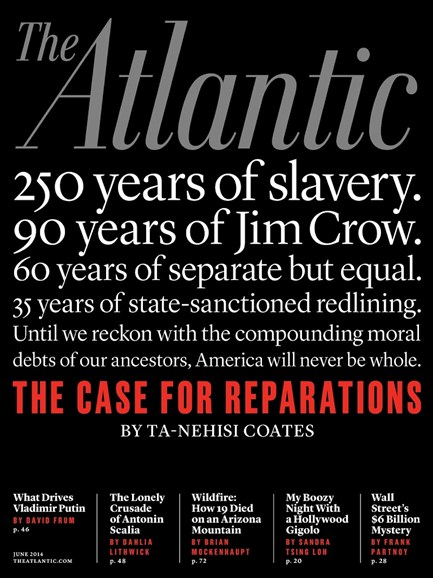 The Atlantic Cover - 6/1/2014