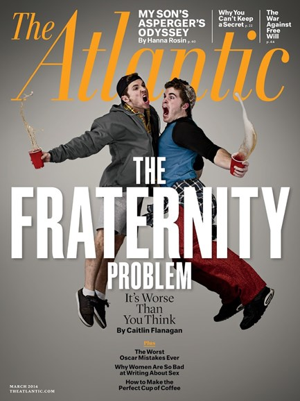 The Atlantic Cover - 3/1/2014
