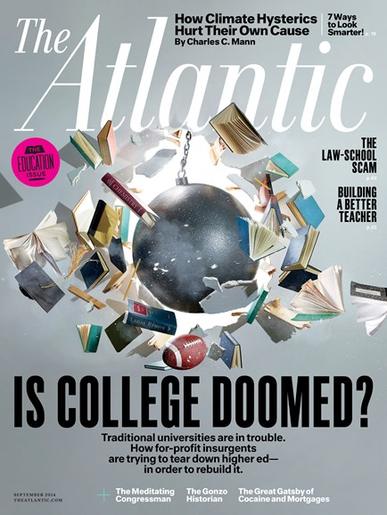 The Atlantic Cover - 9/1/2014